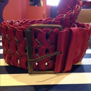 NWOT Morif56 leather belt anthropologie